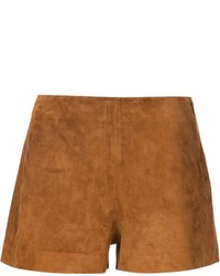 Pantalones cortos de ante marrónes de Rag & Bone