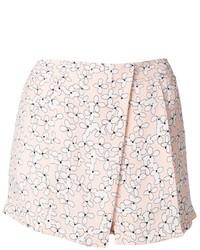 Pantalones Cortos de Flores Rosados de A.L.C.