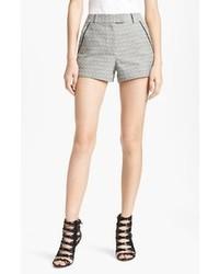 Pantalones cortos de lana grises