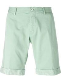 Pantalones Cortos de Paisley en Verde Menta de Etro