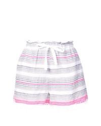 Pantalones cortos de rayas horizontales blancos de Lemlem