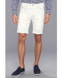 Pantalones cortos de rayas verticales blancos