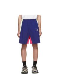Pantalones cortos deportivos azul marino