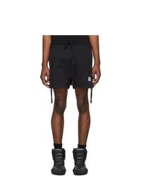 Pantalones cortos deportivos negros