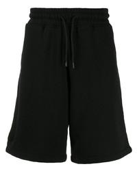 Pantalones cortos deportivos negros de Marcelo Burlon County of Milan