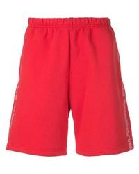 Pantalones cortos deportivos rojos de Supreme