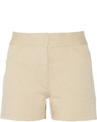 Pantalones cortos en beige