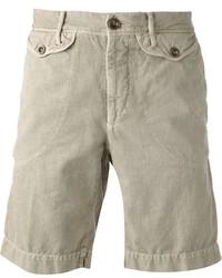 Pantalones cortos en beige de Incotex