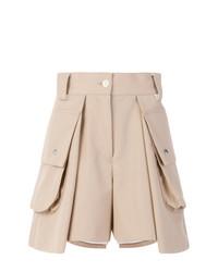 Pantalones cortos en beige de Sacai