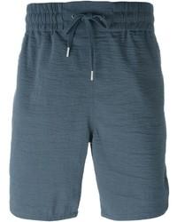 Pantalones cortos en gris oscuro de Helmut Lang