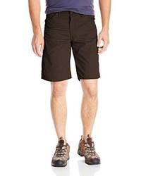 Pantalones cortos en marrón oscuro