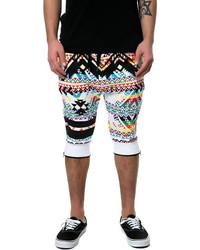Pantalones cortos en multicolor