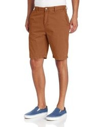 Pantalones cortos en tabaco