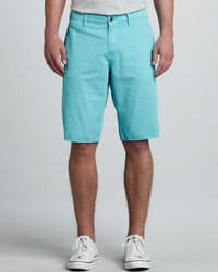 Pantalones cortos en turquesa