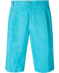 Pantalones cortos en turquesa de Etro