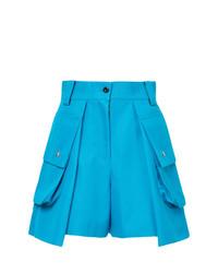 Pantalones cortos en turquesa de Sacai