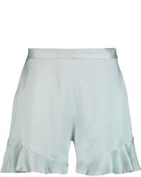 Pantalones cortos en verde menta