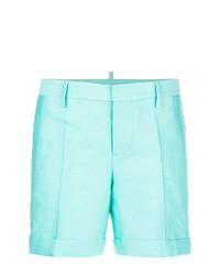 Pantalones cortos en verde menta de Dsquared2