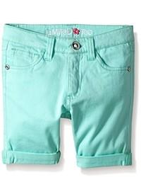 Pantalones cortos en verde menta de Limited Too