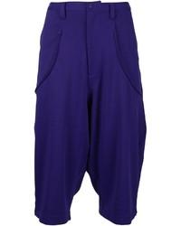 Pantalones cortos en violeta de Y-3