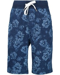 Pantalones cortos estampados azul marino de Alex Mill