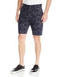 Pantalones cortos estampados azul marino de French Connection