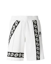 Pantalones Cortos Estampados Blancos y Negros de Damir Doma
