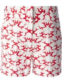 Pantalones cortos estampados blancos de Stella McCartney