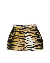 Pantalones cortos estampados marrón claro de RED Valentino