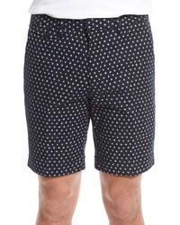 Pantalones cortos estampados negros