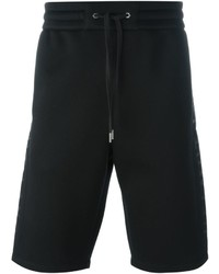 Pantalones cortos estampados negros de Helmut Lang