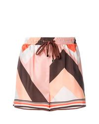 Pantalones cortos estampados rosados de F.R.S For Restless Sleepers