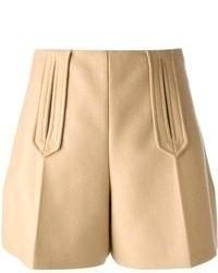 Pantalones cortos marron claro original 1531257