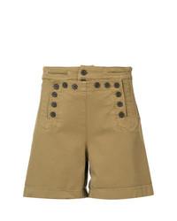Pantalones Cortos Marrón Claro de A.L.C.