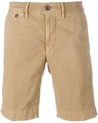 Pantalones cortos marrón claro de Incotex