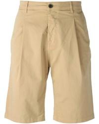Pantalones Cortos Marrón Claro de MSGM