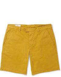 Pantalones cortos mostaza
