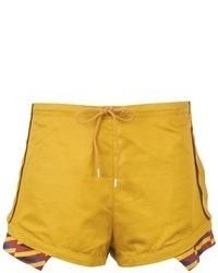 Pantalones cortos mostaza de Kenzo