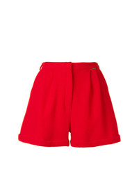 Pantalones cortos plisados rojos de Styland