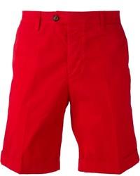 Pantalones cortos rojos de AMI Alexandre Mattiussi