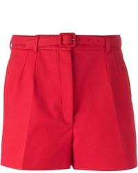 Pantalones cortos rojos de Dolce & Gabbana