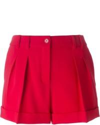 Pantalones Cortos Rojos de Moschino