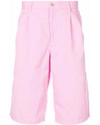 Pantalones cortos rosados de Comme des Garcons