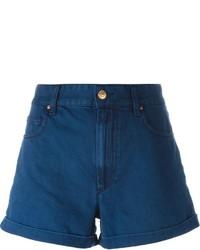 Pantalones cortos vaqueros azul marino de Etoile Isabel Marant