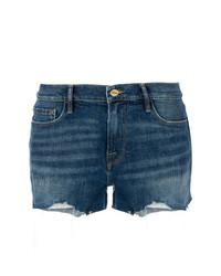 Pantalones cortos vaqueros azul marino de Frame Denim