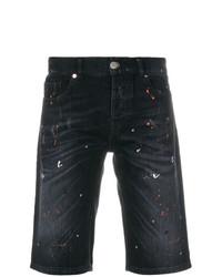 Pantalones cortos vaqueros azul marino de Les Hommes Urban