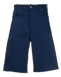 Pantalones cortos vaqueros azul marino de VERSACE JEANS COUTURE
