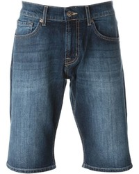 Pantalones cortos vaqueros azules de 7 For All Mankind