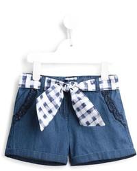 Pantalones Cortos Vaqueros Azules de Armani Junior