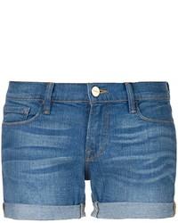 Pantalones cortos vaqueros azules de Frame Denim